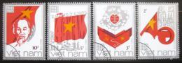 Poštovní známky Vietnam 1985 Výroèí vzniku republiky Mi# 1600-03