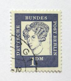 Poštovní známka Západní Berlín 1961 Anette von Droste-Hulshoff Mi# 212 - zvětšit obrázek