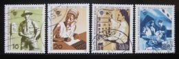 Poštovní známky Západní Berlín 1969 Poštovní kongres Mi# 342-45