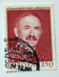 Poštovní známka Faerské ostrovy 1984 Joannes Patursson, básník Mi# 100