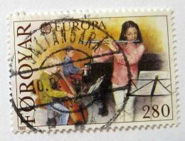 Poštovní známka Faerské ostrovy 1985 Evropa CEPT Mi# 116