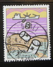 Poštovní známka Faerské ostrovy 1986 Evropa CEPT Mi# 134