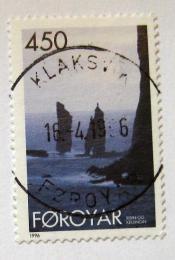 Poštovní známka Faerské ostrovy 1996 Skalnaté pobøeží Mi# 291