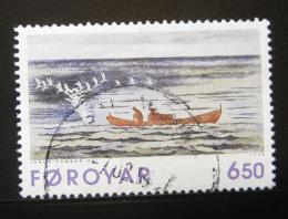 Poštovní známka Faerské ostrovy 1996 Umìní, grafika Mi# 306