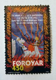 Poštovní známka Faerské ostrovy 1998 Brynhildova balada Mi# 328