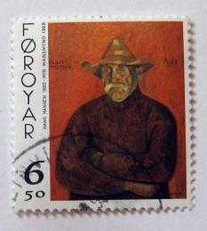Poštovní známka Faerské ostrovy 1998 Umìní, Hans Hansen Mi# 343