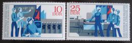 Poštovní známky DDR 1972 Mistøi zítøka Mi# 1799-1800