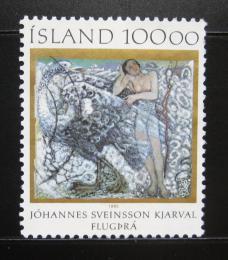 Poštovní známka Island 1985 Umìní, Kjarval Mi# 641