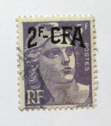 Poštovní známka Reunion 1949 Marianne pøetisk Mi# 342