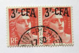 Poštovní známky Reunion 1949 Marianne pøetisk Mi# 344