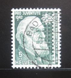 Poštovní známka Švýcarsko 1942 Niklaus Riggenbach Mi# 412