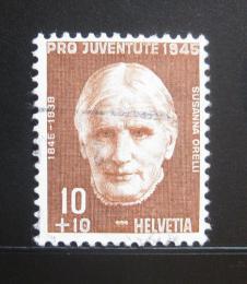 Poštovní známka Švýcarsko 1945 Susanna Orelli Mi# 466