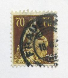 Poštovní známka Švýcarsko 1908 Helvetia Mi# 108 Kat 22€