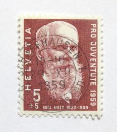 Poštovní známka Švýcarsko 1959 Karl Hilty Mi# 687