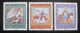 Poštovní známky Švýcarsko 1966 Umìní Mi# 837-39