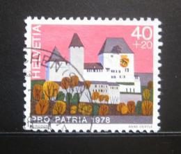 Poštovní známka Švýcarsko 1978 Hrad Burgdorf Mi# 1131
