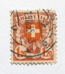 Poštovní známka Švýcarsko 1924 Erb Mi# 195 Kat 7€