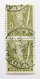 Poštovní známky Švýcarsko 1934 Vodopády Staubbach Mi# 270 Kat 8€