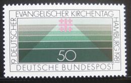 Poštovní známka Nìmecko 1981 Setkání protestantù Mi# 1098