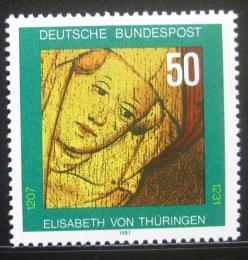 Poštovní známka Nìmecko 1981 Svatá Alžbìta Durynská Mi# 1114
