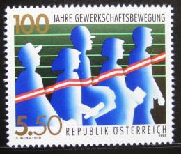 Poštovní známka Rakousko 1993 Odbory Mi# 2112
