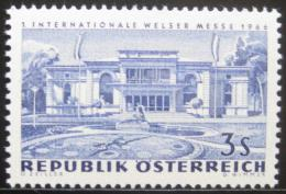 Poštovní známka Rakousko 1966 Veletržní budova Mi# 1215