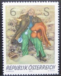 Poštovní známka Rakousko 1976 Moderní umìní Mi# 1537