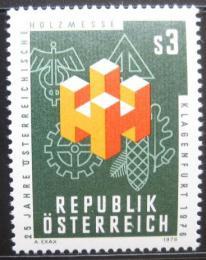 Poštovní známka Rakousko 1976 Veletrh s døevem Mi# 1517