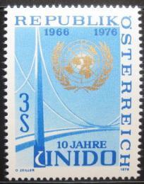 Poštovní známka Rakousko 1976 UNIDO, 10. výroèí Mi# 1532