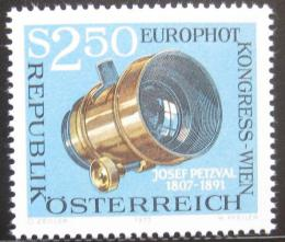 Poštovní známka Rakousko 1973 Kongres EUROPHOT Mi# 1428