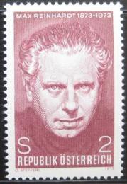 Poštovní známka Rakousko 1973 Max Reinhardt, øeditel divadla Mi# 1424