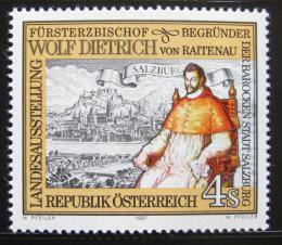 Poštovní známka Rakousko 1987 Arcibiskup Raitenau Mi# 1884