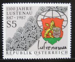 Poštovní známka Rakousko 1987 Lustenau, mìstský erb Mi# 1885