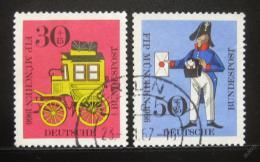 Poštovní známky Nìmecko 1966 Kongres FIP Mi# 516-17