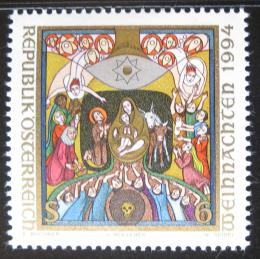 Poštovní známka Rakousko 1994 Vánoce, umìní Mi# 2144