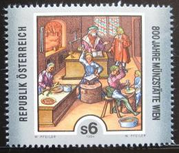 Poštovní známka Rakousko 1994 Vídeòská mincovna Mi# 2119