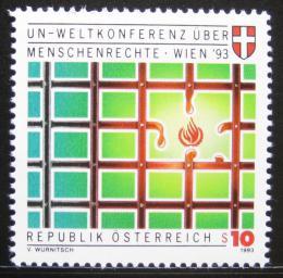 Poštovní známka Rakousko 1993 Lidská práva Mi# 2099
