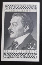 Poštovní známka Rakousko 1968 Moser neperf. èernotisk vzácné Mi# 1271