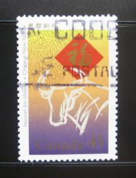 Poštovní známka Kanada 1997 Èínský Nový rok Mi# 1608
