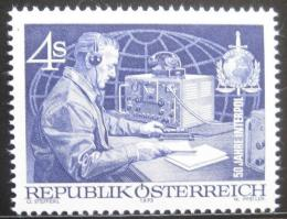 Poštovní známka Rakousko 1973 INTERPOL, 50. výroèí Mi# 1427