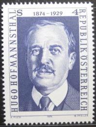 Poštovní známka Rakousko 1974 Hugo Hofmannsthal, básník Mi# 1438 - zvětšit obrázek