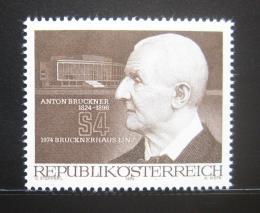 Poštovní známka Rakousko 1974 Anton Bruckner, skladatel Mi# 1443