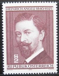 Poštovní známka Rakousko 1975 Heinrich Angeli, malíø Mi# 1494