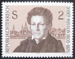 Poštovní známka Rakousko 1975 Josef Misson, básník Mi# 1489