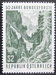 Poštovní známka Rakousko 1975 Státní lesy Mi# 1486