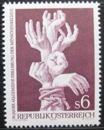 Poštovní známka Rakousko 1978 Lidská práva Mi# 1595