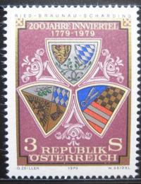 Poštovní známka Rakousko 1979 Erby Mi# 1610