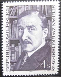 Poštovní známka Rakousko 1981 Stefan Zweig, spisovatel Mi# 1692