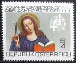 Poštovní známka Rakousko 1982 Svatá Apolonia Mi# 1721