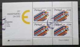 Poštovní známky Portugalsko 1982 Výroèí EHS Mi# Block 34